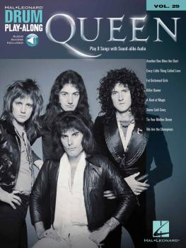 Queen: Drum Play-Along Volume 29 (HL-00702389)