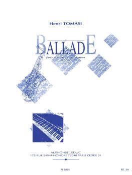Ballade (for Alto Saxophone and Piano) (HL-48180936)