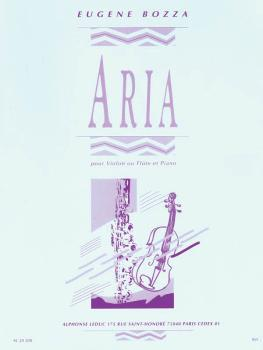 Aria (for Violin or Flute and Piano) (HL-48181076)