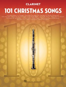101 Christmas Songs (for Clarinet) (HL-00278638)