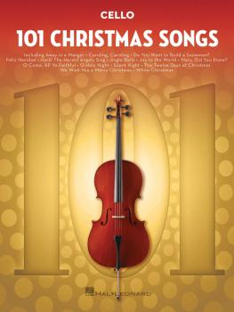 101 Christmas Songs (for Cello) (HL-00278646)