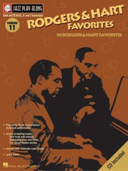 Rodgers & Hart Favorites: Jazz Play-Along Volume 11 (HL-00843004)