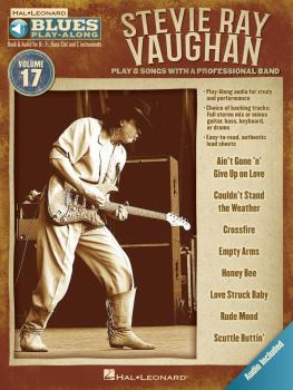 Stevie Ray Vaughan: Blues Play-Along Volume 17 (HL-00843214)