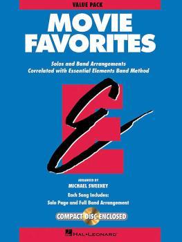 Essential Elements Movie Favorites: Value Pak 37 part books, conductor (HL-00860030)