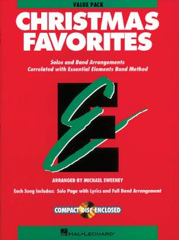 Essential Elements Christmas Favorites: Value Pak 37 part books, condu (HL-00860180)