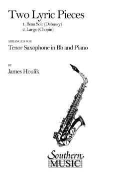 Two Lyric Pieces (Beau Soir/Largo) (Tenor Sax) (HL-03774704)