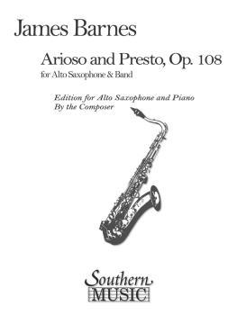 Arioso and Presto, Op. 108 (Alto Sax) (HL-03776335)