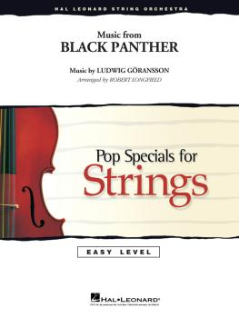 Music from Black Panther (HL-04492302)