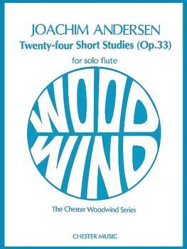 24 Short Studies (Op. 33) (for Flute Solo) (HL-14001844)