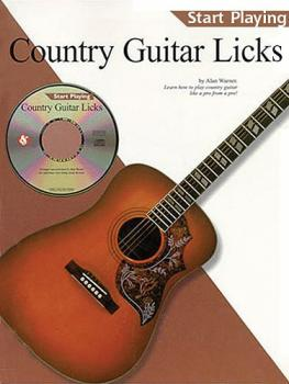 Country Guitar Licks (Start Playing Series) (HL-14031333)