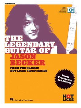 The Legendary Guitar of Jason Becker (From the Classic Hot Licks Video (HL-14048279)