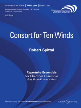 Consort for Ten Winds (Woodwind Ensemble) (HL-48018981)