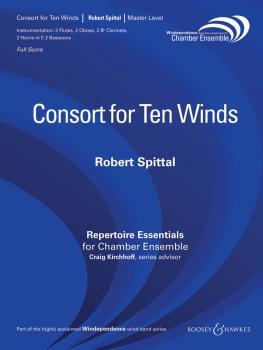 Consort for Ten Winds (Woodwind Ensemble) (HL-48018981)