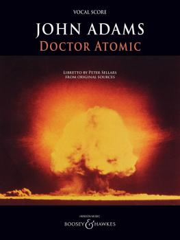 Doctor Atomic: Opera Vocal Score Archive Edition (HL-48022542)