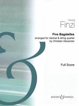 5 Bagatelles (for Clarinet and String Quartet) (HL-48022993)
