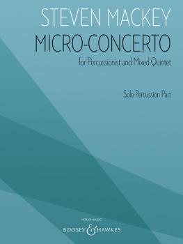 Micro-Concerto (for Percussionist and Mixed Quintet Solo Percussion Pa (HL-48024374)
