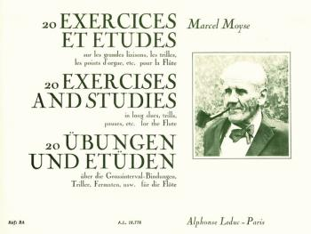 20 Exercices et Etudes pour Flute: [20 Exercises and Studes for Flute] (HL-48180676)