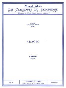 Adagio - Classiques No. 49 (for Alto Saxophone and Piano) (HL-48180899)