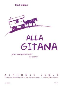 Alla Gitana (for Alto Saxophone and Piano) (HL-48181012)