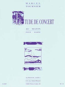 Etude de Concert - Au Matin (for Harp) (HL-48181021)