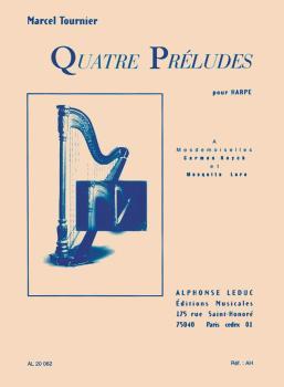 Quatre Préludes pour Harpe (HL-48181041)
