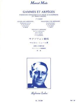 Gammes et Arpeges - Volume 1: Exercices Fondamentaux pour le Saxophone (HL-48181158)
