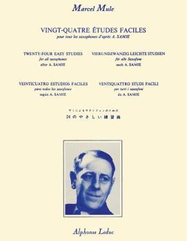 Vingt-Quatre Etudes Faciles pour Tour Les Saxophones d'apres A. Samie (HL-48181184)