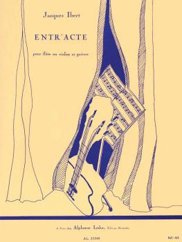 Entr'acte (for Flute or Violin and Guitar) (HL-48181619)
