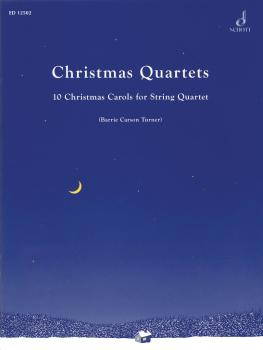 Christmas Quartets: 10 Christmas Carols for String Quartet (HL-49003246)