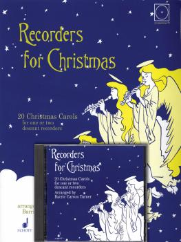 Recorders for Christmas: 20 Christmas Carols for One or Two Recorders (HL-49003256)