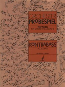 Test Pieces for Orchestra - Double Bass: Excerpts from the Operatic an (HL-49007580)