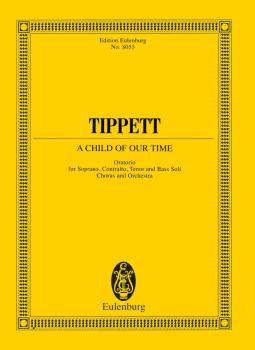 A Child of Our Time (Oratorio Study Score) (HL-49016790)