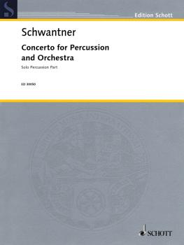 Concerto for Percussion and Orchestra: Percussion Solo Part revised (HL-49018430)