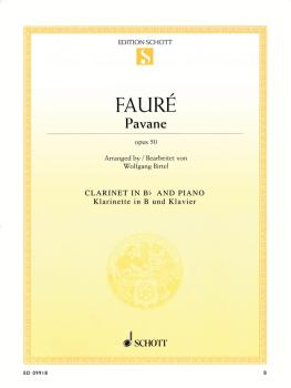 Pavane, Op. 50 (Clarinet and Piano) (HL-49018795)