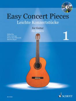 Easy Concert Pieces for Guitar - Volume 1 (With a CD of Performance Tr (HL-49019569)