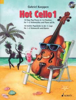 Hot Cello 1: 16 Easy Pop Pieces in 1st Position (HL-49044494)