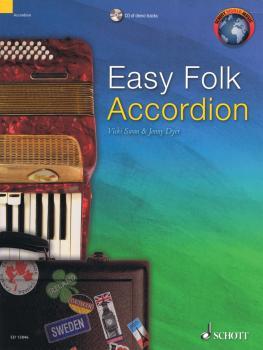Easy Folk Accordion (29 Pieces) (HL-49045146)