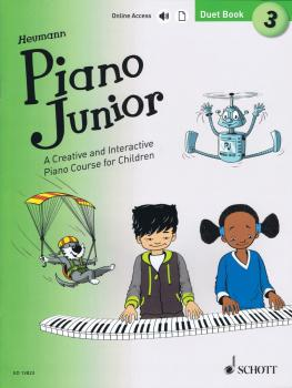 Piano Junior: Duet Book 3 (Book/Online Audio) (HL-49045687)