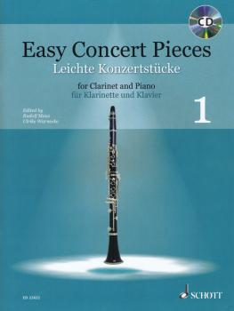 Easy Concert Pieces - Book 1: 25 Pieces from 4 Centurie Clarinet and P (HL-49045758)