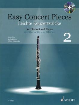 Easy Concert Pieces - Book 2: 22 Pieces from 4 Centuries/Clarinet and  (HL-49045759)