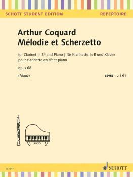 Melodie et Scherzetto Op. 68 (Clarinet and Piano) (HL-49045904)