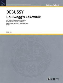 Golliwogg's Cakewalk (from Children's Corner Violin, Cello, Piano Scor (HL-49045975)