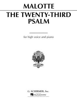 23rd Psalm (High Voice) (HL-50280380)
