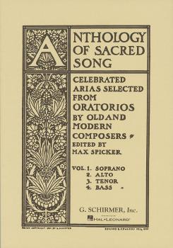 Anthology of Sacred Song - Volume 4 (Bass) (HL-50325810)