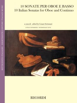 10 Italian Sonatas for Oboe and Continuo (HL-50601136)