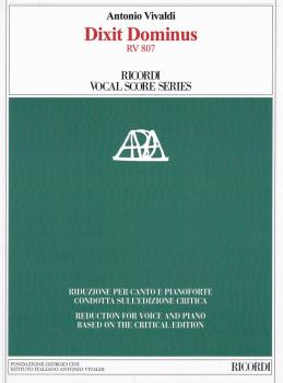 Dixit Dominus RV807: Reduction for Voice and Piano based on the Critic (HL-50601268)