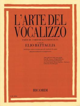 L'Arte Del Vocalizzo Part III (Mezzo-Soprano or Baritone): Critical-Te (HL-50601356)