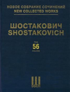The Gamblers Sans Op.: New Collected Works of Dmitri Shostakovich Volu (HL-50601382)