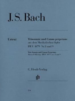 Trio Sonata and Canon Perpetuus from the Musical Offering BWV 1079 (HL-51480294)