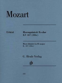 Horn Quintet in E-flat Major K. 407 (386c) (With Horn Parts in E-flat  (HL-51480826)